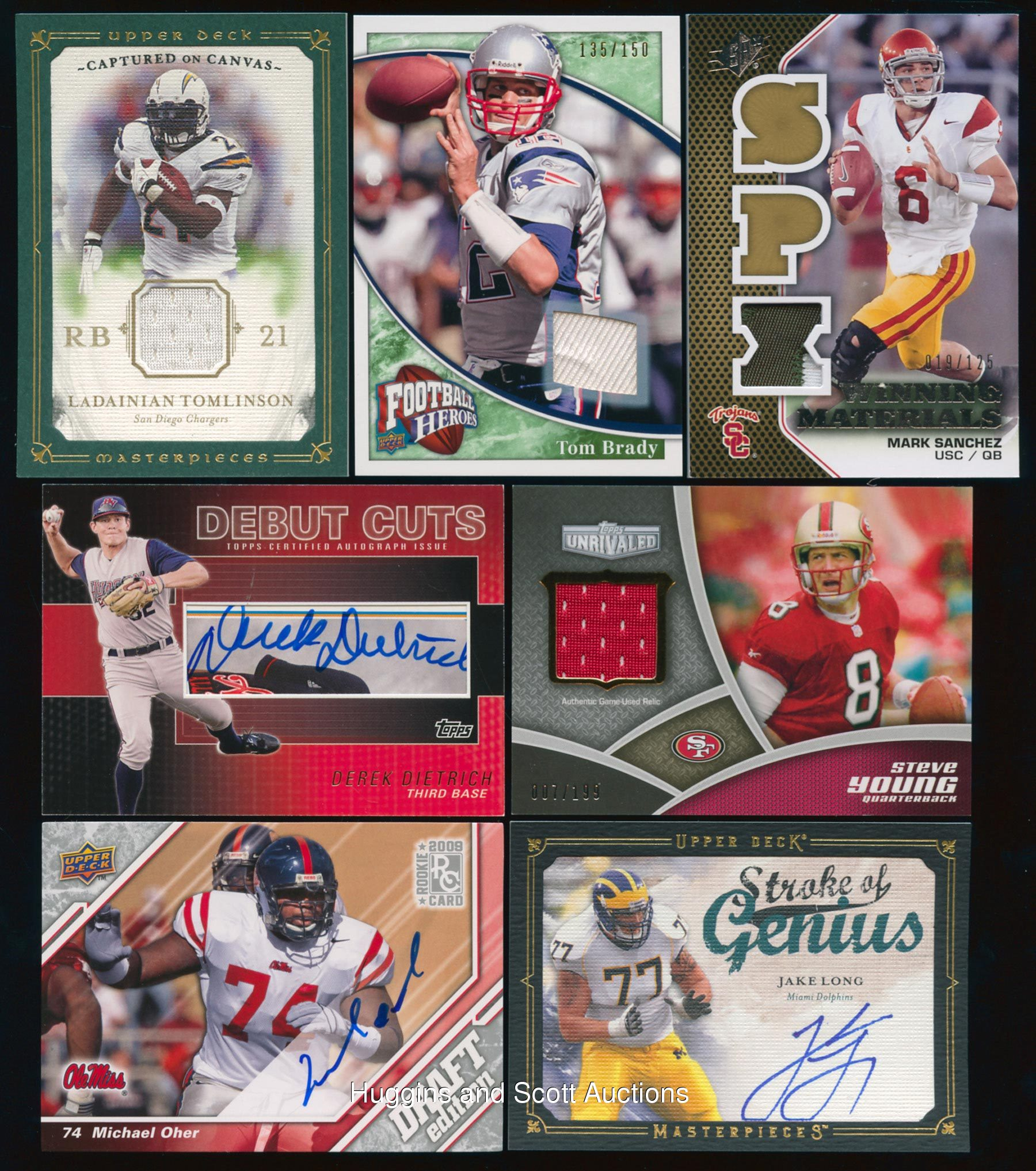 Hochanadel Sets Two Meet Records In Strasburg: (530+) 2008-2010 Baseball & Football Certified Auto/Jersey