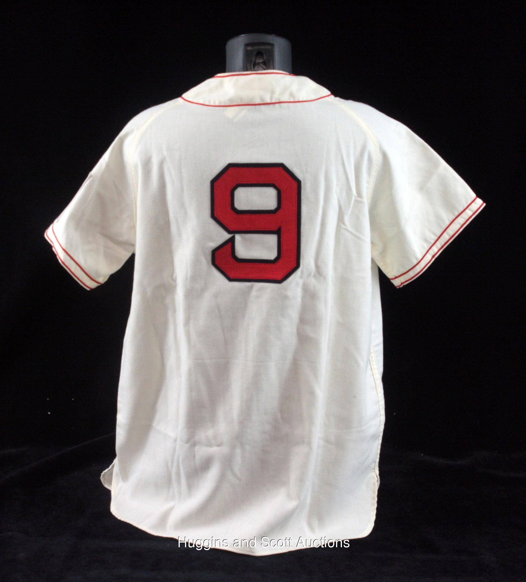 new arrival 3be70 e3719 Ted Williams Signed Mitchell & Ness Jersey with Full JSA